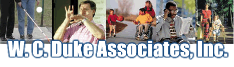 W. C. Duke Associates: the dot com for disability etiquette